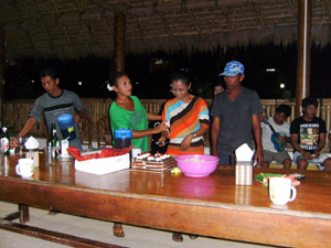 Party im Raja Laut