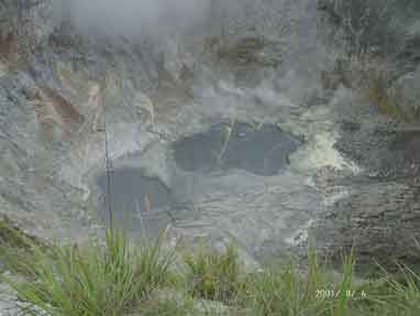 The Crater of Mahawu