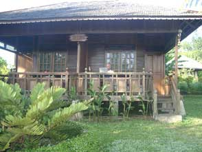 Our bungalow in Volcano Resort